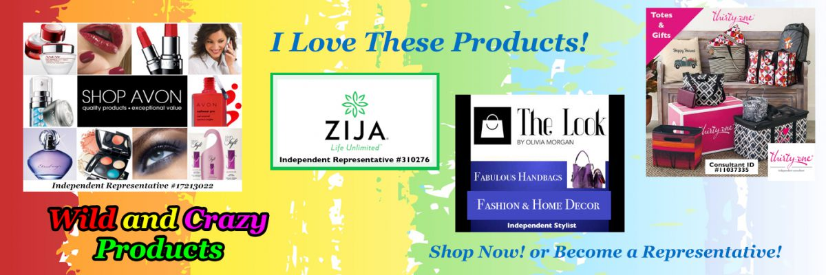 I Love These Products! Avon - Zija - The Look - Thirty-One